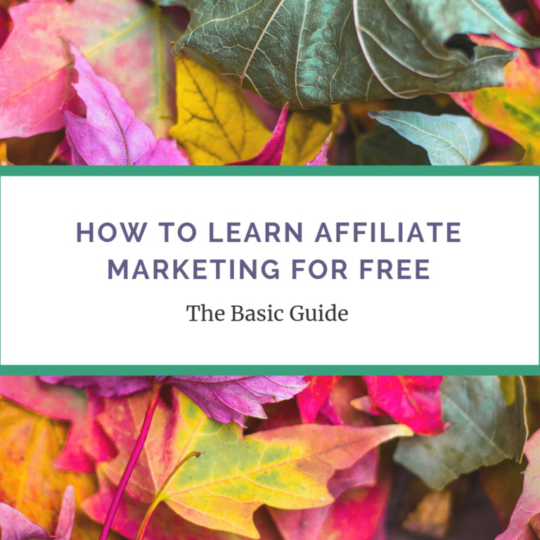 How To Learn Affiliate Marketing For Free -The Basic Guide