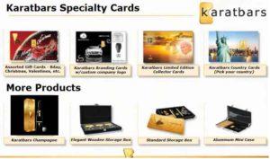 Karatbars products