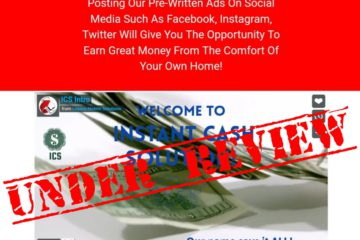 Instant Cash Solution Review – Make $500 Copy And Pasting Or A Scam?