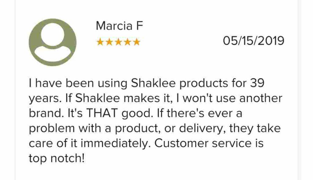 Shaklee good