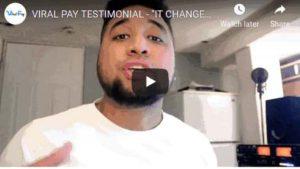 Viral pay fake testimonial