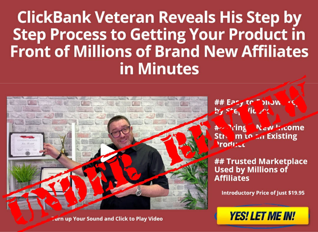 Clickbank Superstar Review (A Scam Or Legit!?)