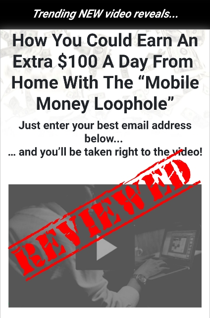 Mobile Money Loophole Review (Teo Vee Back Again!!)(EXPOSED!)