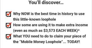 Mobile money loophole unrealistic expectations