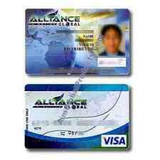 Aim global ATM card