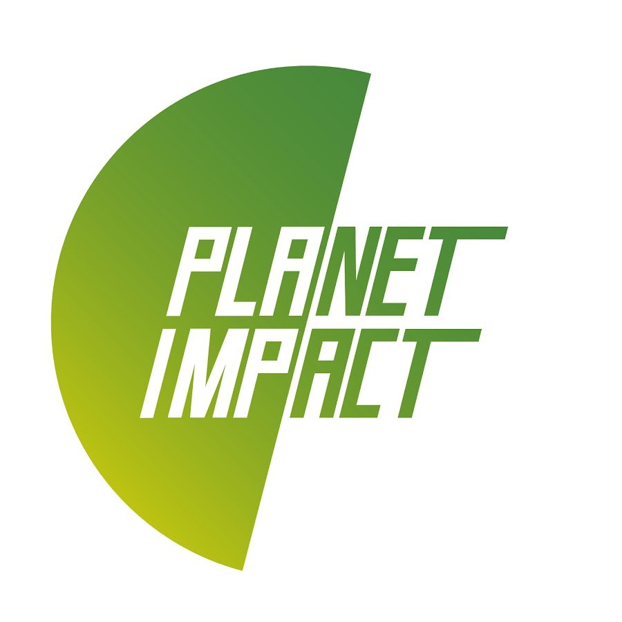 Planet impact logo