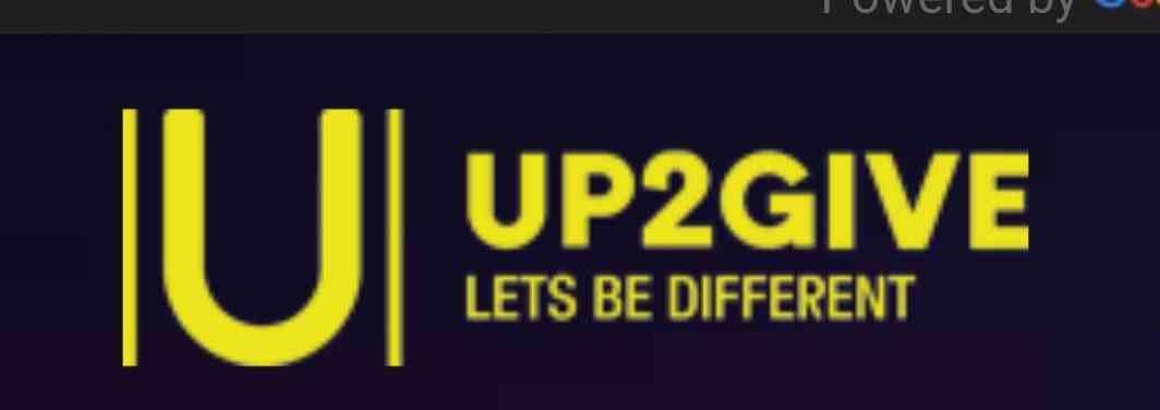 Up2Give logo