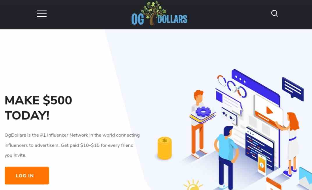 Ogdollars front page